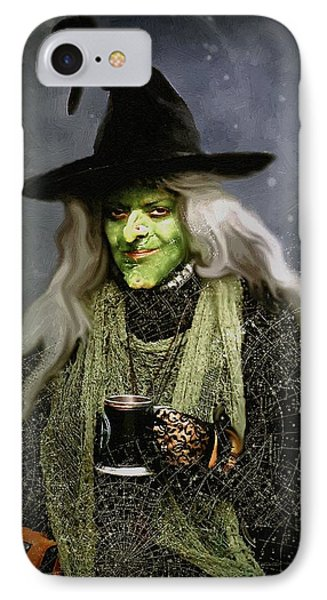 The Witch Of Endor As A Cavalier Phone Case by RC deWinter
