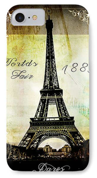 The Worlds Fair Of 1889 IPhone Case by Steven  Taylor