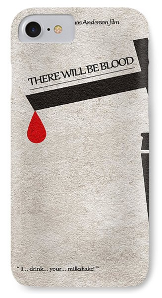 There Will Be Blood IPhone Case by Ayse Deniz
