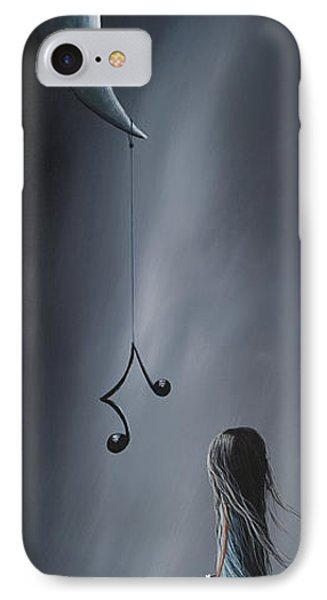 They Feel Your Love Song - Surreal Art By Shawna Erback Phone Case by Shawna Erback