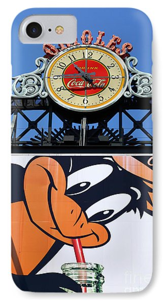 Thirsty Oriole IPhone 7 Case by James Brunker