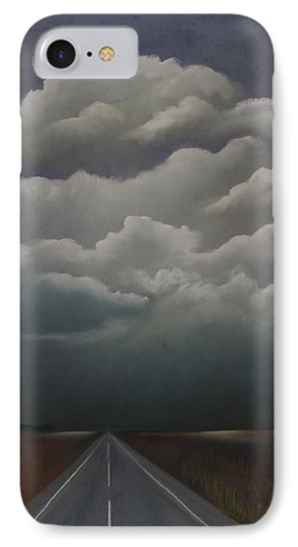 This Menacing Sky Phone Case by Cynthia Lassiter