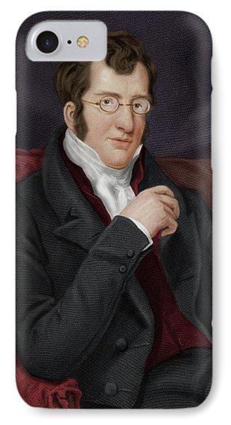 Thomas Buxton IPhone Case by Maria Platt-evans