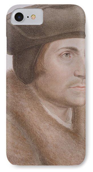 Thomas More IPhone Case by Hans Holbein the Younger