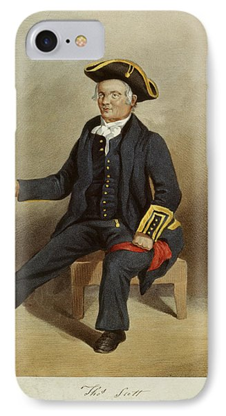 Thomas Scott IPhone Case by British Library