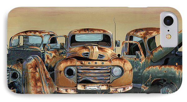 Three Amigos IPhone Case by John Wyckoff