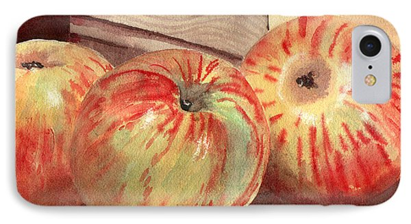 Three Fuji Apples Blenda Studio IPhone Case by Blenda Studio