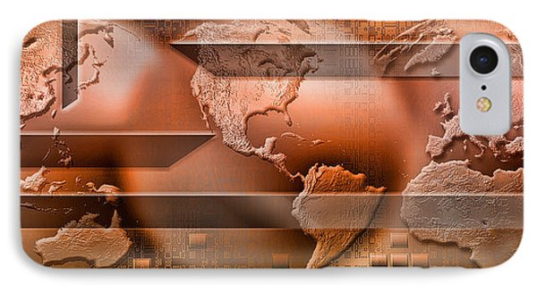Three Parts Of The Earth Surrounded IPhone Case by Panoramic Images