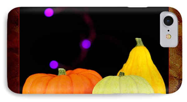 Three Small Pumpkins Phone Case by Toppart Sweden