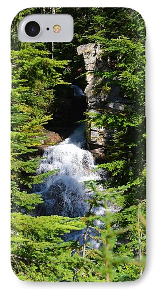 Through The Trees IPhone Case by Randy Giesbrecht