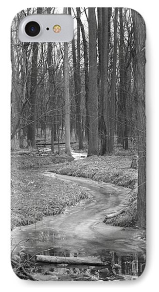 Through The Woods Phone Case by Sara  Raber