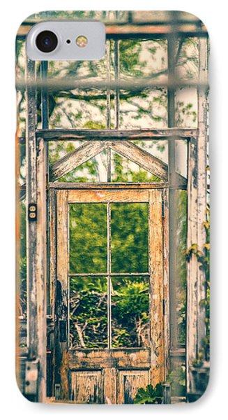 Thru Times Window Phone Case by Karol Livote
