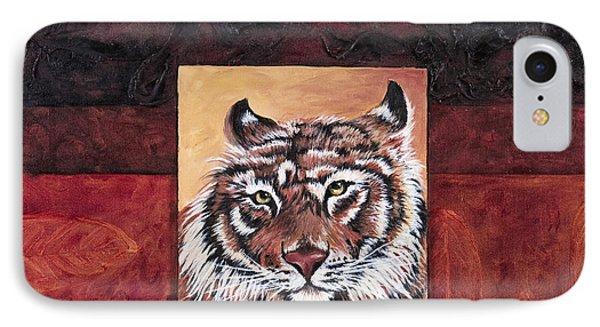 Tiger 2 Phone Case by Darice Machel McGuire