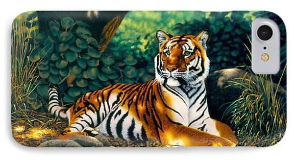 Tiger Phone Case by MGL Studio - Chris Hiett