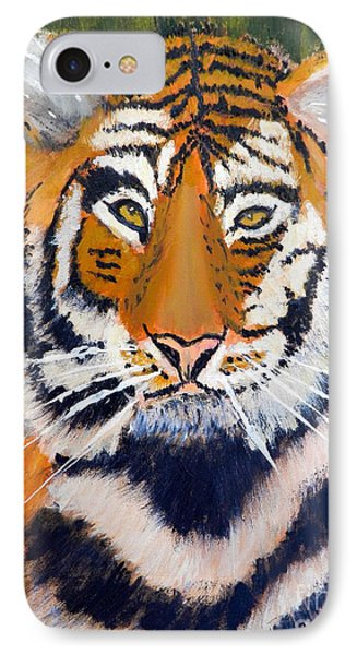 Tiger Phone Case by Pamela  Meredith