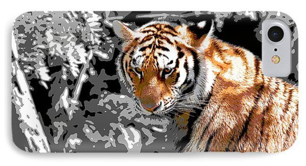 Tiger Poster IPhone Case by Dan Sproul
