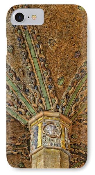 Tile Work Phone Case by Susan Candelario