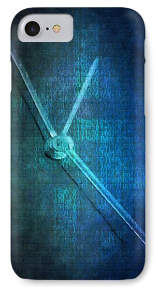 Time IPhone Case by Toppart Sweden