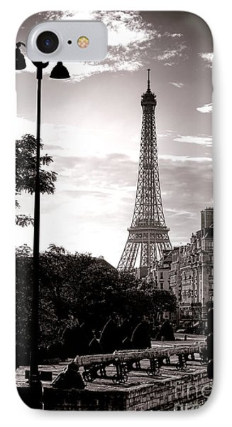 Timeless Eiffel Tower Phone Case by Olivier Le Queinec