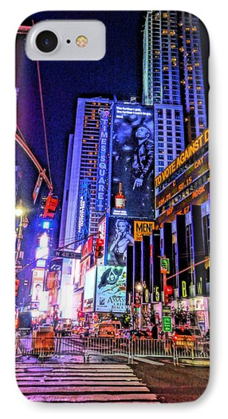 Times Square IPhone Case by Dan Sproul