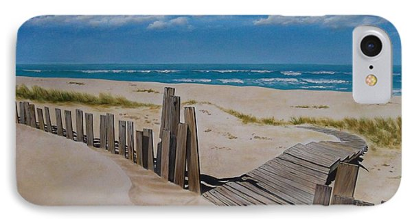 To The Beach Phone Case by Paul Bennett