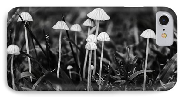 Toadstools V3 Phone Case by Douglas Barnard