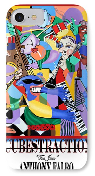 Toe Jam Poster IPhone Case by Anthony Falbo