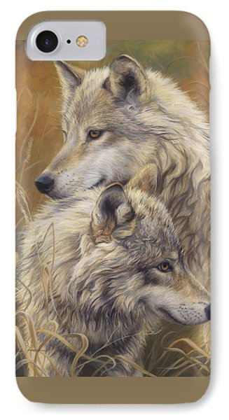 Together IPhone 7 Case by Lucie Bilodeau