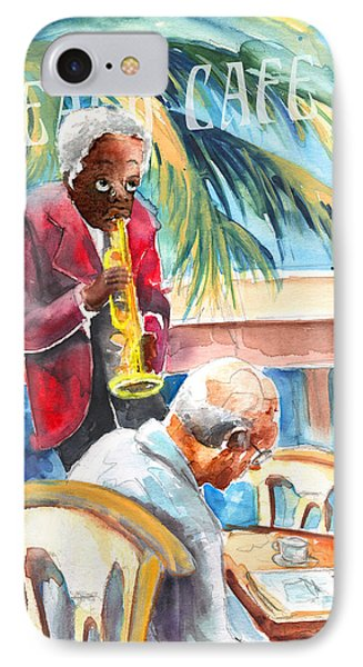 Together Old In Prague Phone Case by Miki De Goodaboom