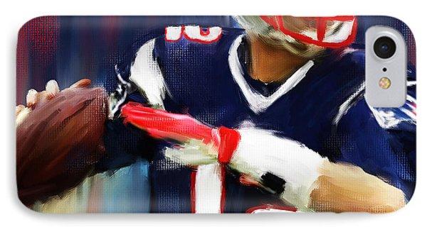Tom Brady IPhone Case by Lourry Legarde