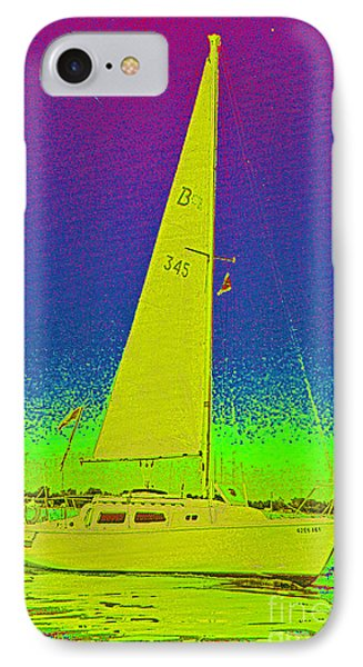 Tom Ray's Sailboat IPhone Case by First Star Art