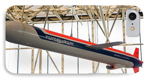 Tomahawk Cruise Missile In A Museum IPhone Case by Jim West