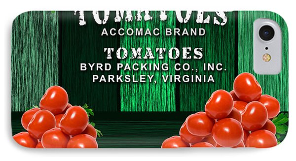 Tomato Farm IPhone Case by Marvin Blaine