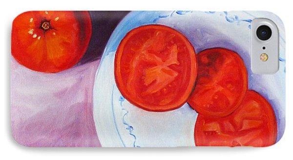 Tomato Phone Case by Nancy Merkle