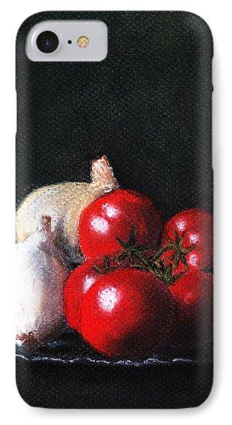 Tomatoes And Onions Phone Case by Anastasiya Malakhova
