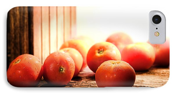 Tomatoes In An Old Barn Phone Case by Olivier Le Queinec