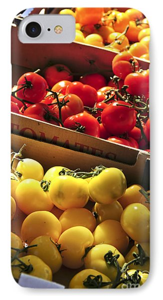 Tomatoes On The Market IPhone 7 Case by Elena Elisseeva