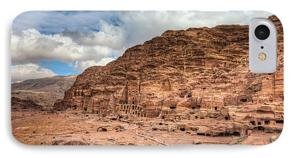 Tombs Of Petra IPhone Case by Alexey Stiop