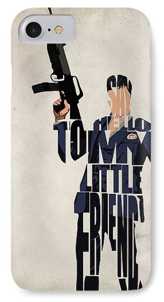 Tony Montana - Al Pacino IPhone Case by Ayse Deniz