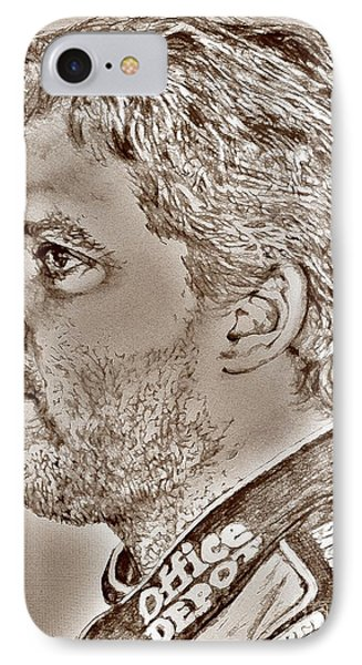 Tony Stewart In 2011 Phone Case by J McCombie