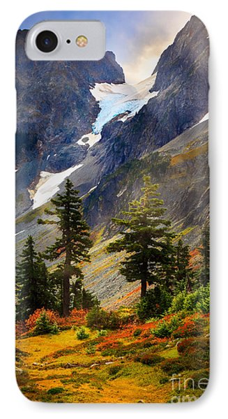Top Of Cascade Pass IPhone 7 Case by Inge Johnsson
