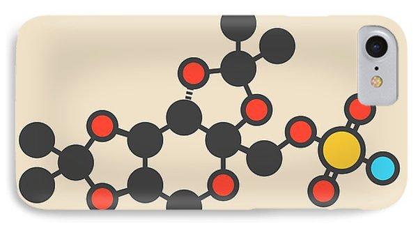 Topiramate Epilepsy Drug Molecule IPhone Case by Molekuul
