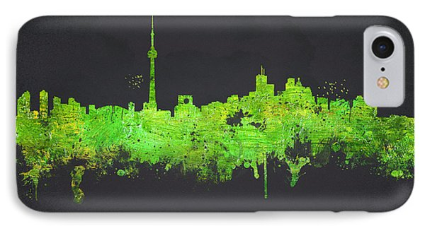 Toronto Canada Phone Case by Aged Pixel