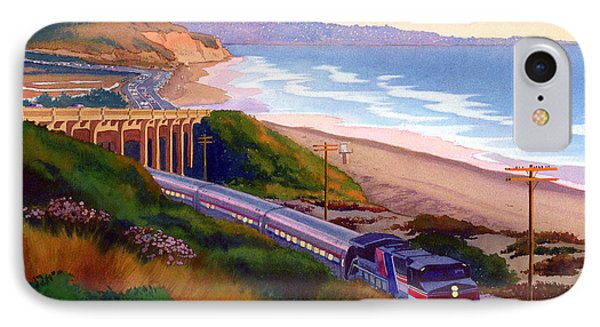 Torrey Pines Commute IPhone Case by Mary Helmreich