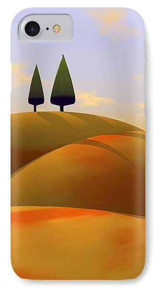 Toscana 1 IPhone Case by Cynthia Decker