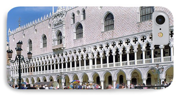 Tourist Outside A Cathedral, St. Marks IPhone Case by Panoramic Images