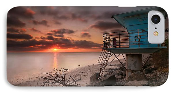 Tower 27 IPhone Case by Larry Marshall
