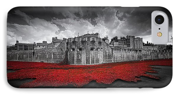 Tower Of London Remembers IPhone Case by Ian Hufton
