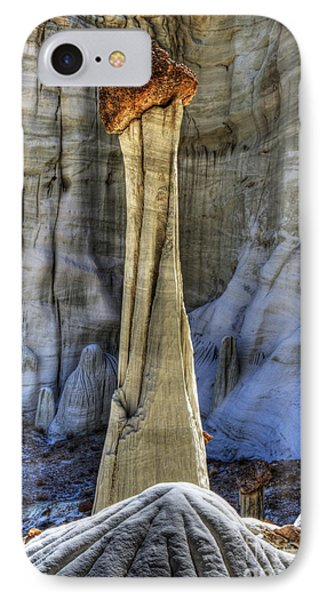 Tower Of Silence Utah IPhone Case by Bob Christopher