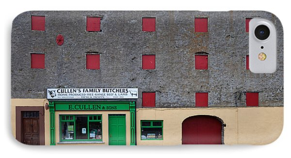 Traditional Butchers , Leighlinbridge IPhone Case by Panoramic Images